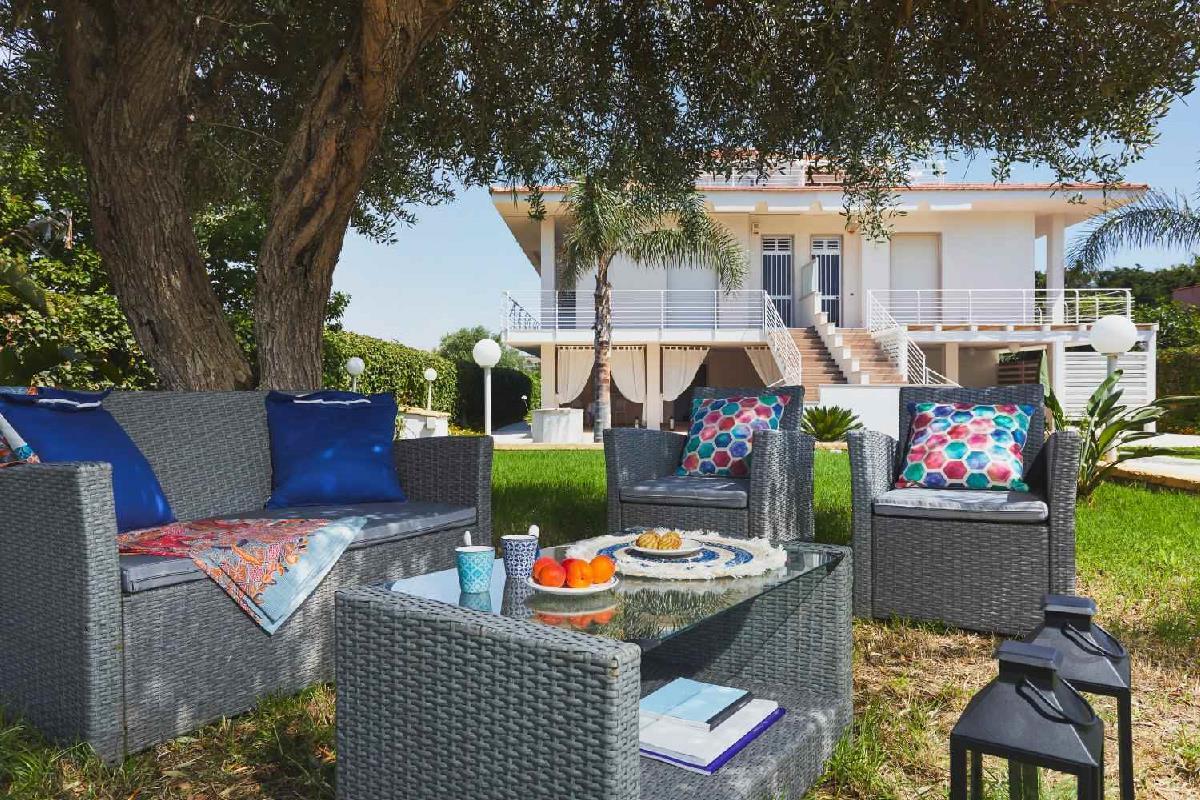 Villa Marina Meerblick2 Pozzallo Sicilia